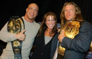 old kurt angle triple h