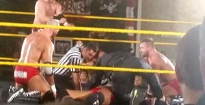 NXT Star Knocked Out Cold In The Ring (Video)