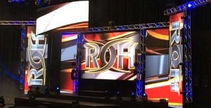 Photos: Ring Of Honor's Upgraded Stage & Lighting