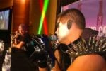 Video: Stardust Confronts Stephen Amell, Challenges Him To A Match
