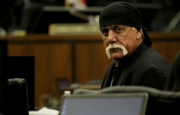 Hulk Hogan in court (Pool Photo via Tampa Bay Times)