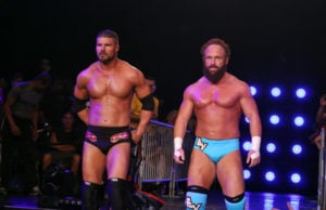 Bobby Roode & Eric Young (Photo by TNA)