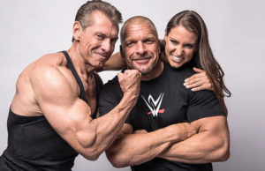 vince-triple-h-stephanie-gym