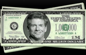Vince McMahon million dollar bill (WWE)