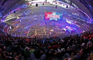 WrestleMania 32 Aerial Shot (WWE Press Release)