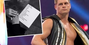 Cody Rhodes Posts Wish List Of Wrestling Goals