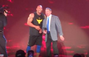 The Rock & Vince McMahon