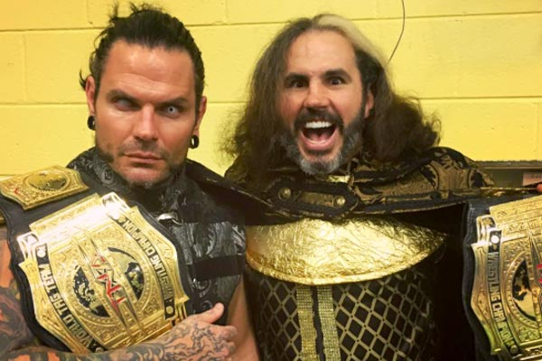 Matt & Jeff Hardy Not Re-Signing With TNA - SEScoops