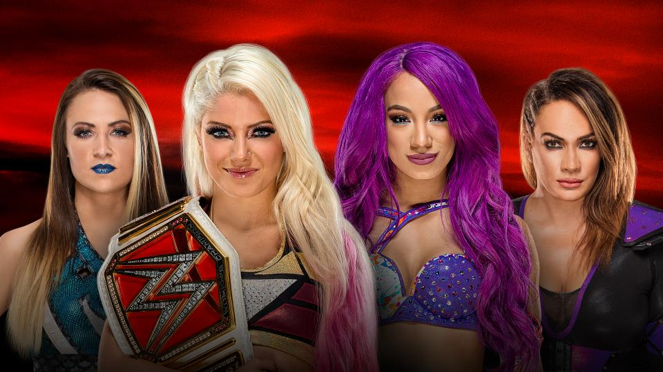 Image result for Raw Women's Championship match at No Mercy