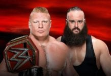 No Mercy Main Event Brock Lesnar vs Braun Strowman