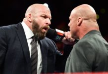 Triple H and Kurt Angle