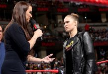 Rousey Stephanie Raw