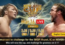 New Japan Cup Night Seven