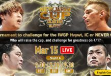 New Japan Cup Night Six