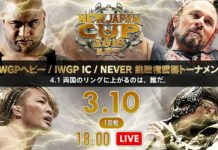 New Japan Cup Night Two