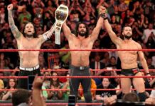 Seth Rollins, Finn Balor and Jeff Hardy