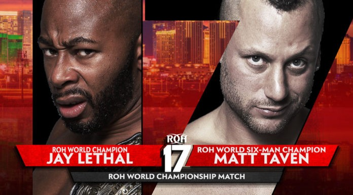 final card for ring of honor 17th anniversary ppv