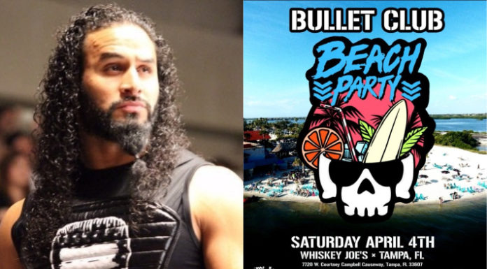 Tama Tonga - Bullet Club Beach Party