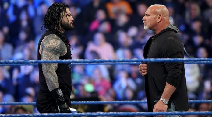 Roman Reigns will not compete against Goldberg at WrestleMania