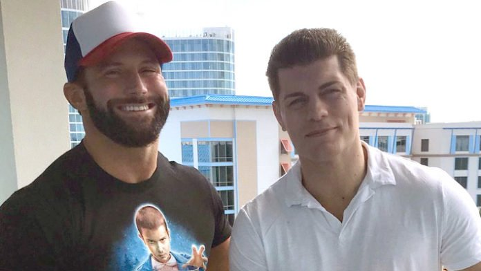 """Cody Rhodes On AEW Potentially Signing Zack Ryder: """"This Can't Be ..."""