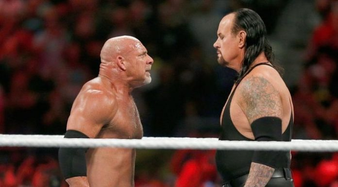 The Undertaker faced Goldberg at Super Showdown 2019