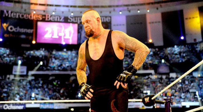 The Undertaker opens up about his infamous loss. Image Credit: WWE.com