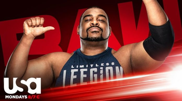 Keith Lee will make his Raw debut this Monday
